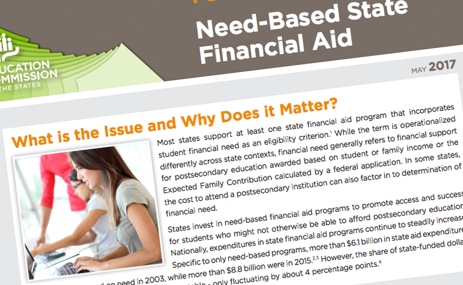 need-based state financial aid